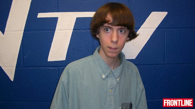 Adam Lanza in 2008, when he was in the 10th grade at Newton High School. Adam joined the tech club in high school, but withdrew from school when he was 16. (Frontline)