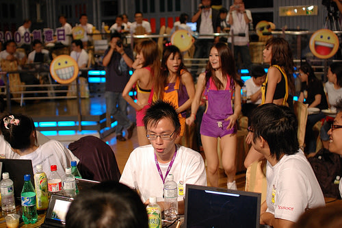 Yahoo! Taiwan Open Hack Day 2008 - Hack Girls