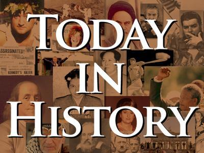 Today in History for Wednesday, February 6th