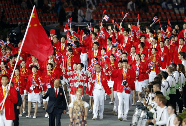 China's dominance in sports is only just beginning.