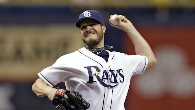 Rays beat Mariners 4-0 to end 10-game skid