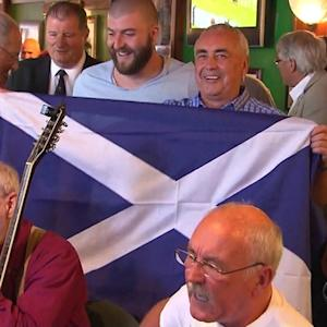 Healing process begins after Scotland decides to stay