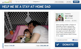 Dad Blogger Is Asking For $50,000 To Be A SAHD