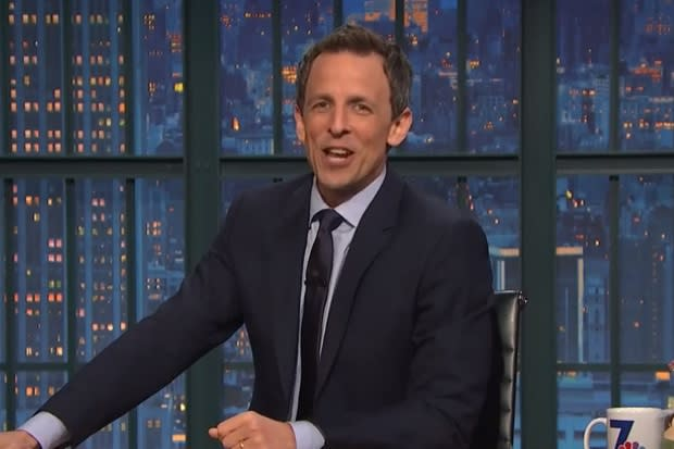 Seth Meyers Rips Indiana Governor Over 'Terrible Job' Defending Anti-LGBT Law (Video)