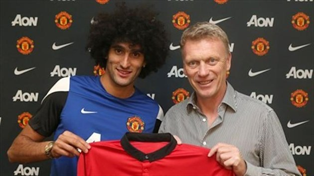 Marouane Fellaini took a £4million hit to complete his dream move to Manchester United
