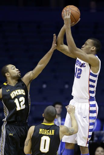 DePaul beats Maryland-Baltimore County 69-61