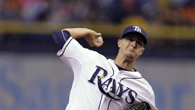 Odorizzi stellar as Rays beat Red Sox 7-0