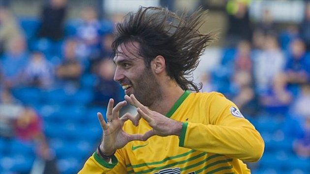 Hat-trick hero Georgios Samaras, pictured, played down his performance against Kilmarnock