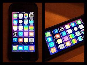 Leaked pic seemingly shows iOS 8 running on an iPhone 5s