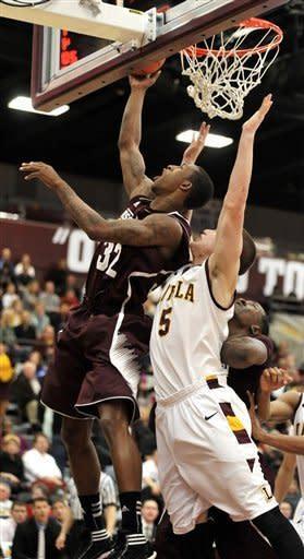 Loyola-Chicago tops Mississippi State 59-51