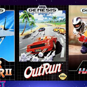 Super Hang On, After Burner II, Out Run - Megabit