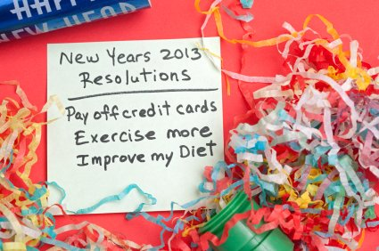 Make debt-reduction a goal, not a resolution