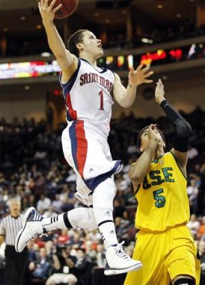 St. Mary's beats San Francisco 83-78 for WCC final