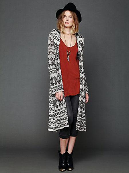Check This Pattern Maxi Cardigan, $99.95 at freepeople.com