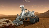 This NASA handout image shows an artist's conception of NASA's Mars Science Laboratory Curiosity rover. NASA said all was well ahead of its nail-biting mission to Mars, with its most advanced robotic rover poised to hunt for clues about past life and water on Earth's nearest planetary neighbor