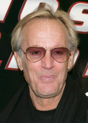 Peter Fonda at the New York premiere of Columbia Pictures' Ghost Rider