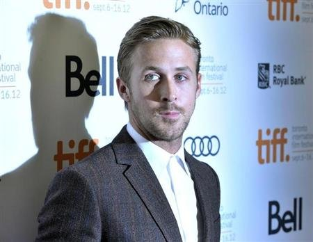 "Actor Ryan Gosling poses at the gala presentation for the film ""The Place Beyond The Pines"" at the Toronto International Film Festival"