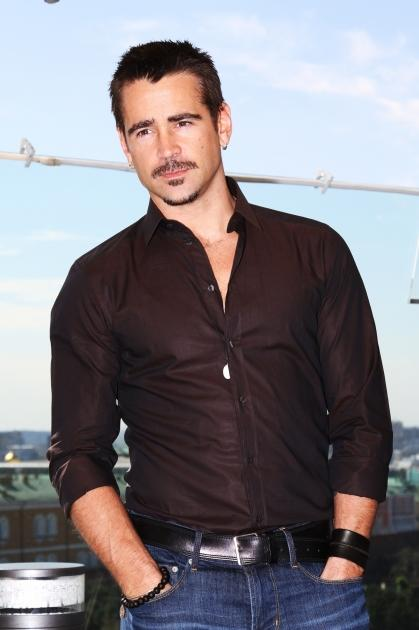 Colin Farrell is seen at a photocall at Ritz Carlton hotel before Moscow Premiere of 'Total Recall' in Moscow on August 8, 2012  -- Getty Premium