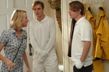 Naomi Watts , Michael Pitt and Brady Corbet in Warner Independent Pictures' Funny Games
