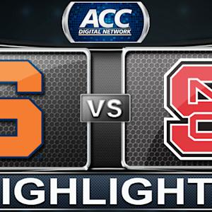 Syracuse vs NC State | 2014 ACC Women's Basketball Tournament Highlights