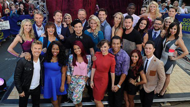 'Dancing With The Stars' Season 17 Celebrity Cast Takes 'GMA' Studio by Storm