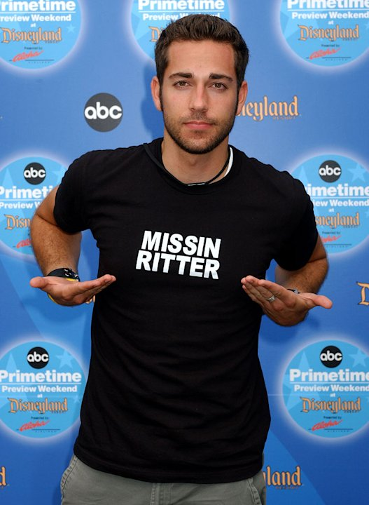 Zachary Levi of Chuck at the ABC 3rd Annual Primetime Preview Weekend. 