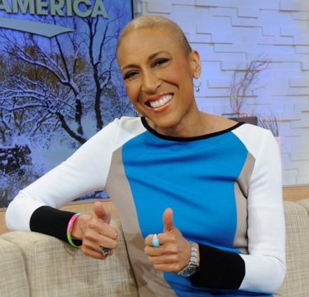 Robin Roberts Back on 'Good Morning America' Set