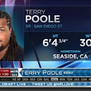 Seattle Seahawks pick offensive tackle Terry Poole No. 130 in 2015 NFL Draft