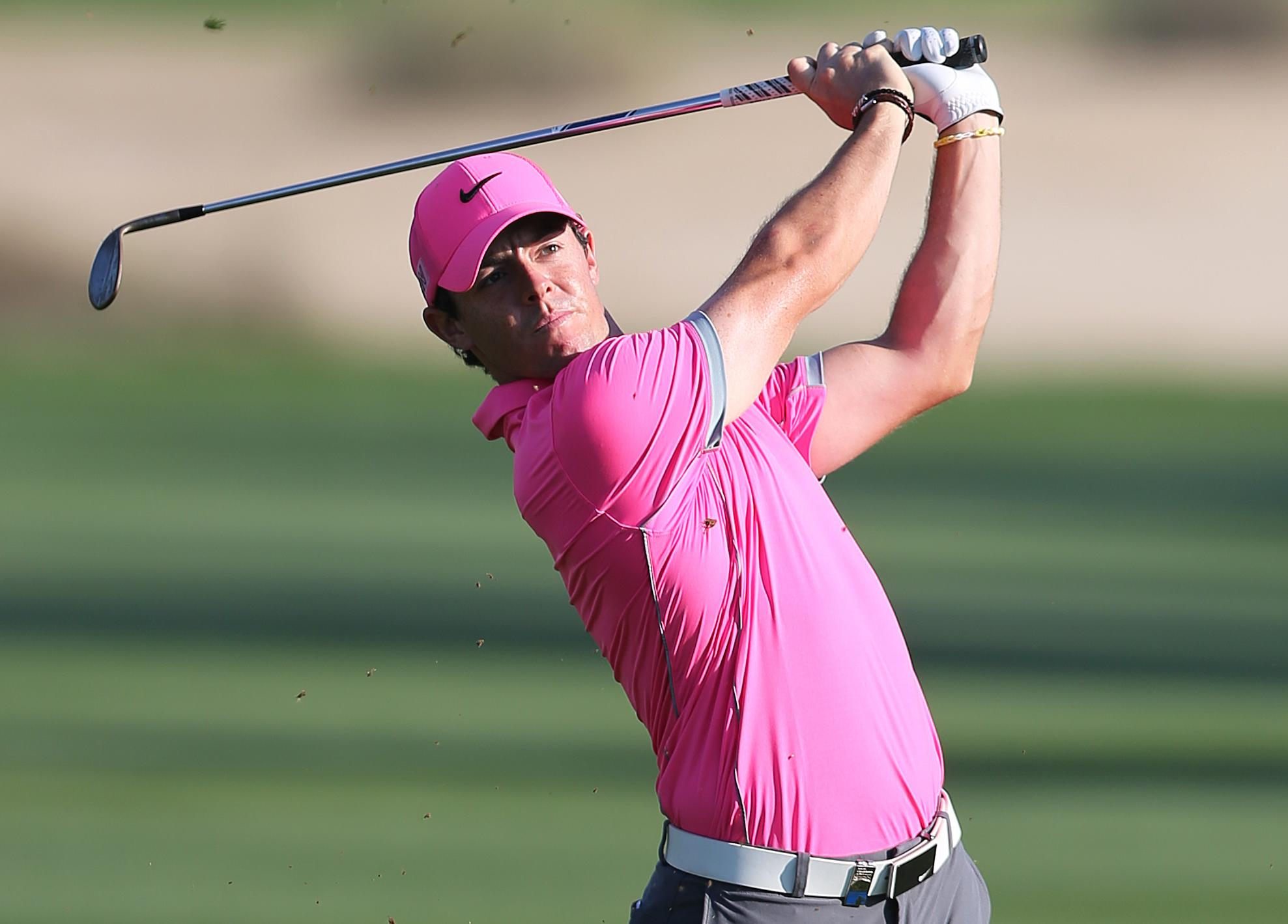 McIlroy surges to one-shot lead in Dubai Desert Classic