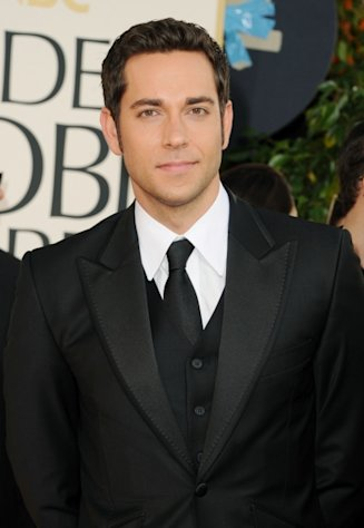 Zachary Levi arrives at the 68th Annual Golden Globe Awards held at The Beverly Hilton hotel on January 16, 2011 in Beverly Hills  -- Getty Images