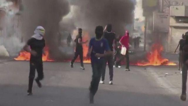 Protests in Bahrain ahead of F1 Grand Prix