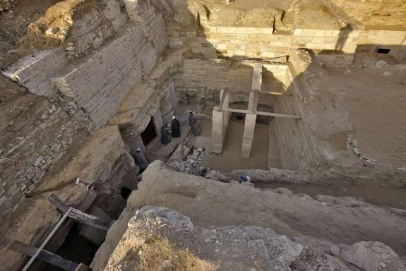 Tomb of Ancient Egyptian Princess Discovered in Unusual Spot