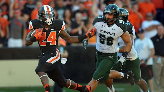 Oregon State downs Hawaii 33-14
