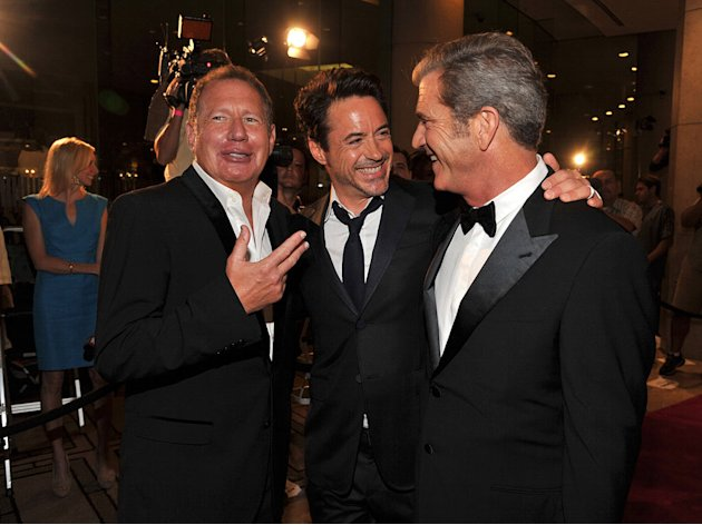 25th American Cinematheque Award Honoring Robert Downey Jr. thumb Gary Shandling Mel Gibson