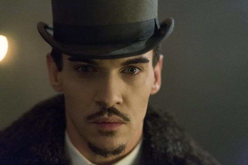 "This publicity image released by NBC shows Jonathan Rhys Meyers as Alexander Grayson in ""Dracula,"" premiering Oct. 25 at 10 p.m. EST. (AP Photo/NBC, Jonathon Hession)"