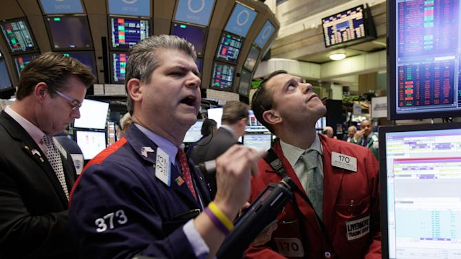 Close but not quite for the Dow in push for 13,000