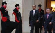 Barack Obama In Jordan To Talk Syria With King