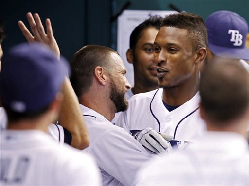 Upton hits 100th homer, Rays beat Orioles