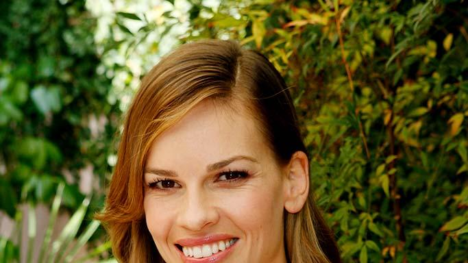 Hilary Swank attend the Guerlain Celebrates the launch of the new fragrance My Insolence.