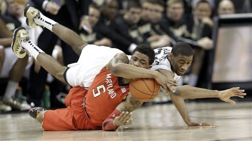 Wells scores 23 to lead Maryland past Wake 67-57