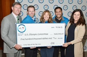 Citi Announces $500,000 Donation to U.S. Olympic Committee to Benefit the Next Generation of Team USA