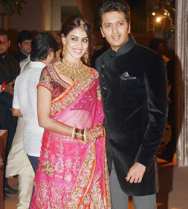 A star studded reception for Dheeraj Deshmukh