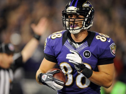dennis pitta baltimore ravens tight end