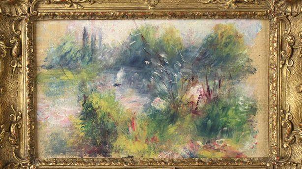 Renoir Painting Found at a Flea Market Was Stolen