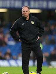 David Platt will not be on the touchline for Manchester City&#39;s next two European games
