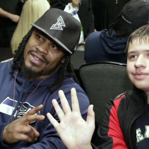 Seattle Seahawks running back Marshawn Lynch's Oakland roots