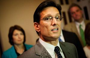 US House Majority Leader Eric Cantor, R-VA, speaks …