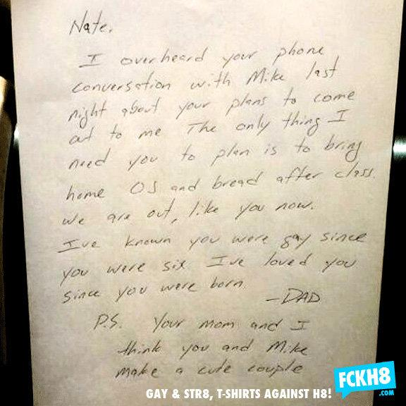 The Dad Who Wrote A Love Letter to His Gay Son