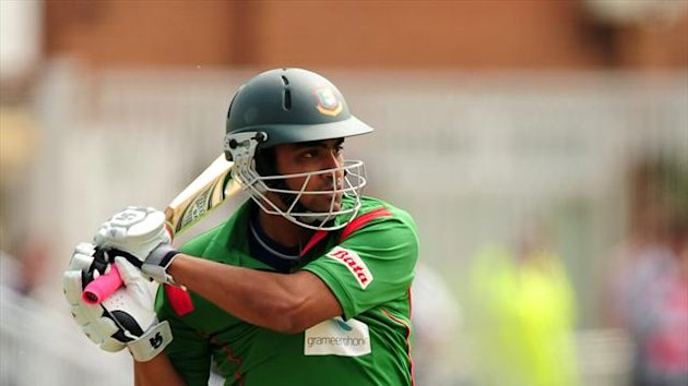 Tamim Iqbal smashed a century for Bangladesh