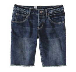 Mossimo Women's Slim Denim Boyfriend Shorts, $19.99